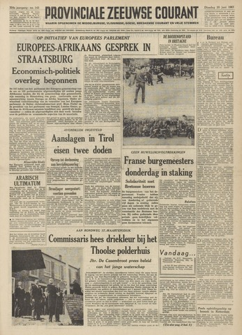 Provinciale Zeeuwse Courant 1961-06-20