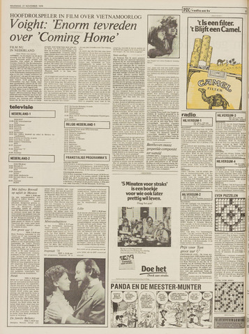 Provinciale Zeeuwse Courant 27 November 1978 Pagina 8