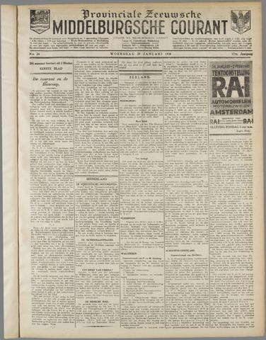 Middelburgsche Courant 1930-01-29