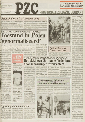 Provinciale Zeeuwse Courant 1983-07-22