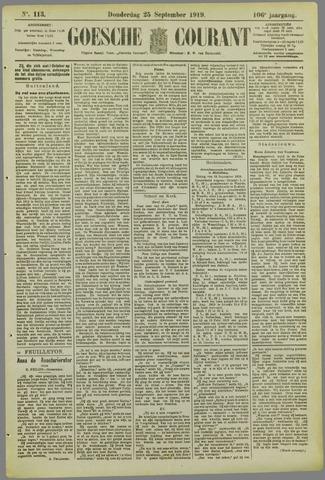 Goessche Courant 1919-09-25