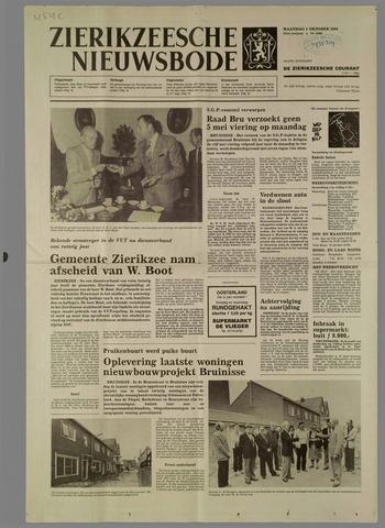 Zierikzeesche Nieuwsbode 1984-10-01