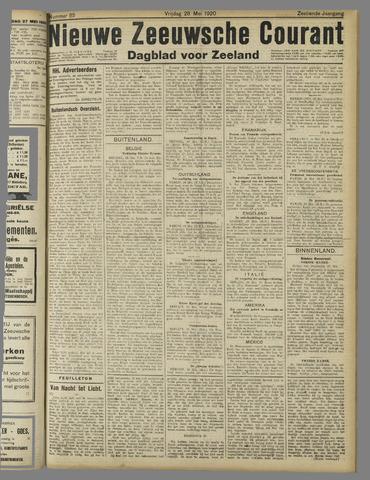 Nieuwe Zeeuwsche Courant 1920-05-28