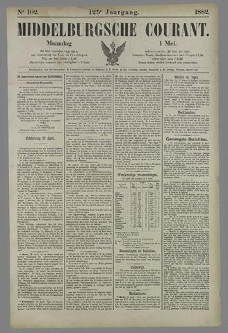 Middelburgsche Courant 1882-05-01