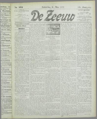 De Zeeuw. Christelijk-historisch nieuwsblad voor Zeeland 1919-05-31