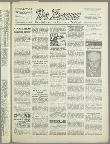 De Zeeuw. Christelijk-historisch nieuwsblad voor Zeeland 1937-12-20
