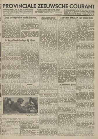 Provinciale Zeeuwse Courant 1943-09-22