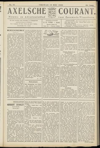 Axelsche Courant 1939-05-19