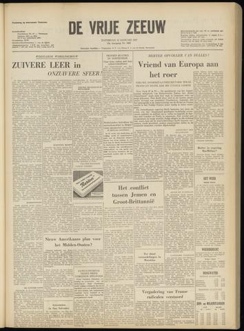 de Vrije Zeeuw 1957-01-12