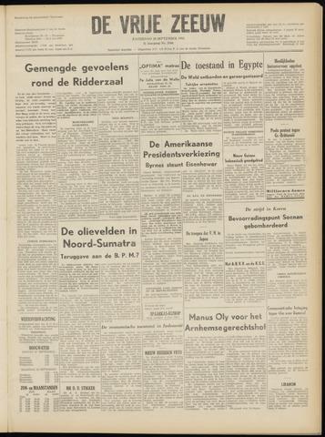 de Vrije Zeeuw 1952-09-20