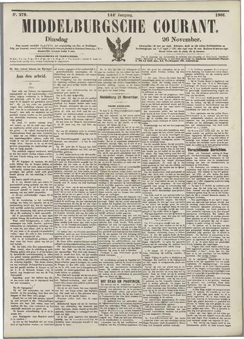 Middelburgsche Courant 1901-11-26