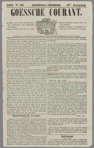 Goessche Courant 1864-12-01