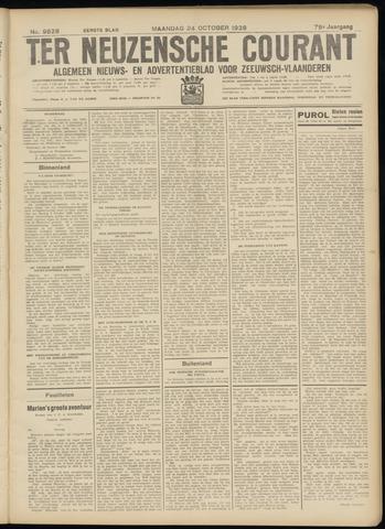 Ter Neuzensche Courant. Algemeen Nieuws- en Advertentieblad voor Zeeuwsch-Vlaanderen / Neuzensche Courant ... (idem) / (Algemeen) nieuws en advertentieblad voor Zeeuwsch-Vlaanderen 1938-10-24