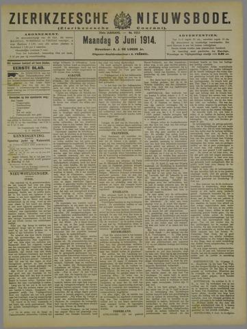 Zierikzeesche Nieuwsbode 1914-06-08