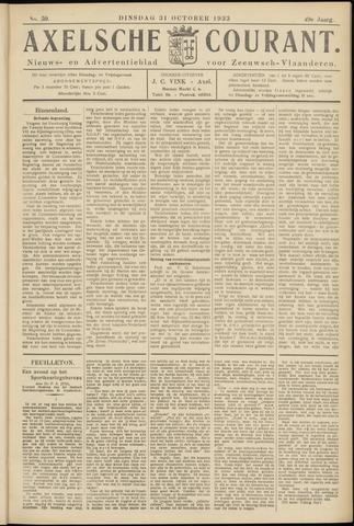 Axelsche Courant 1933-10-31