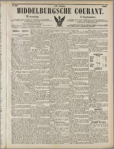 Middelburgsche Courant 1903-09-02