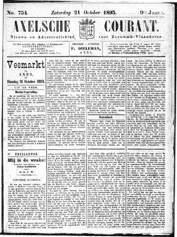 Axelsche Courant 1893-10-21