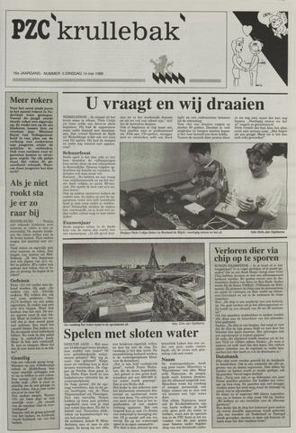Provinciale Zeeuwse Courant katern Krullenbak (1981-1999) 1996-05-14