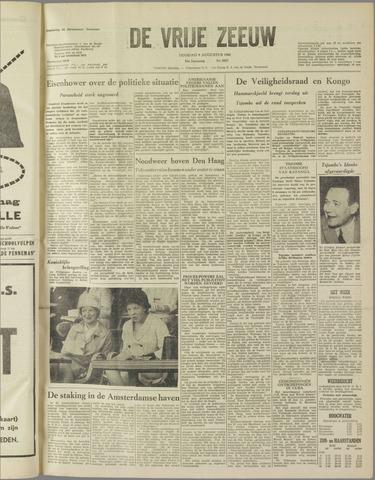 de Vrije Zeeuw 1960-08-09