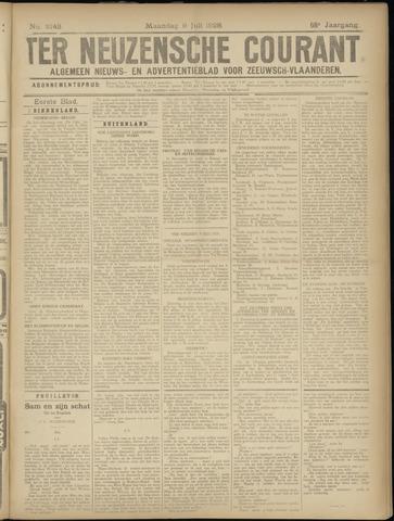Ter Neuzensche Courant. Algemeen Nieuws- en Advertentieblad voor Zeeuwsch-Vlaanderen / Neuzensche Courant ... (idem) / (Algemeen) nieuws en advertentieblad voor Zeeuwsch-Vlaanderen 1928-07-09