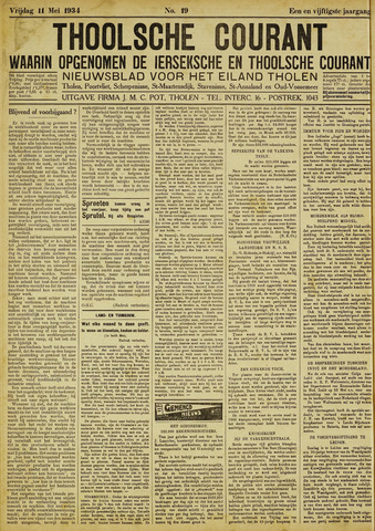 Ierseksche en Thoolsche Courant 1934-05-11