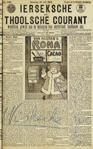 Ierseksche en Thoolsche Courant 1912-07-20