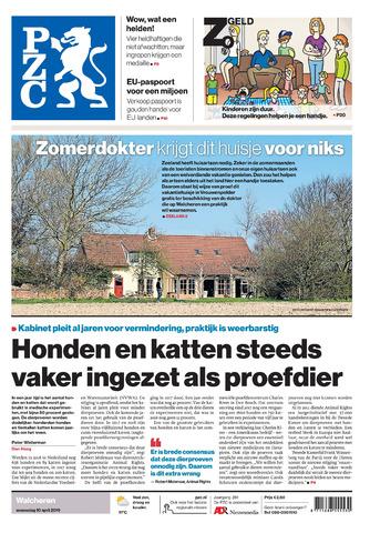 Provinciale Zeeuwse Courant 2019-04-10