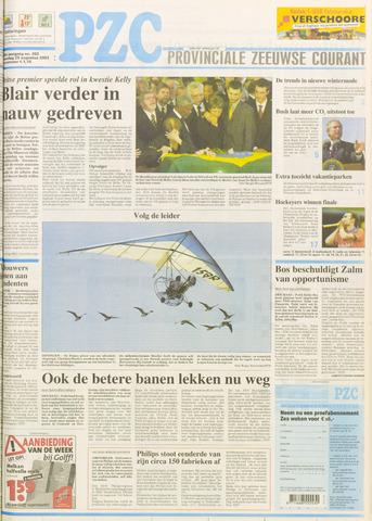 Provinciale Zeeuwse Courant 2003-08-25