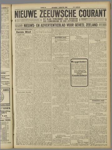 Nieuwe Zeeuwsche Courant 1926-08-07