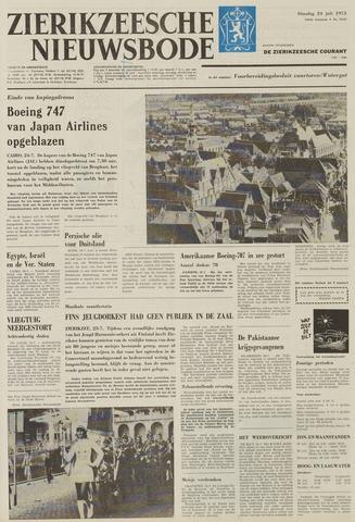 Zierikzeesche Nieuwsbode 1973-07-24