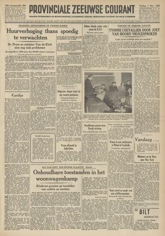 Provinciale Zeeuwse Courant 1952-11-07
