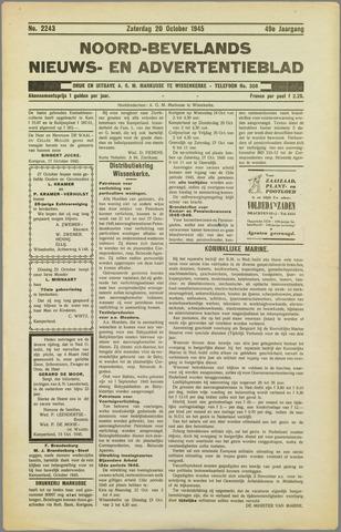 Noord-Bevelands Nieuws- en advertentieblad 1945-10-20