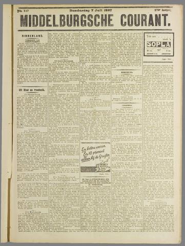 Middelburgsche Courant 1927-07-07