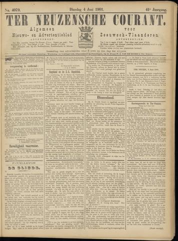 Ter Neuzensche Courant. Algemeen Nieuws- en Advertentieblad voor Zeeuwsch-Vlaanderen / Neuzensche Courant ... (idem) / (Algemeen) nieuws en advertentieblad voor Zeeuwsch-Vlaanderen 1901-06-04