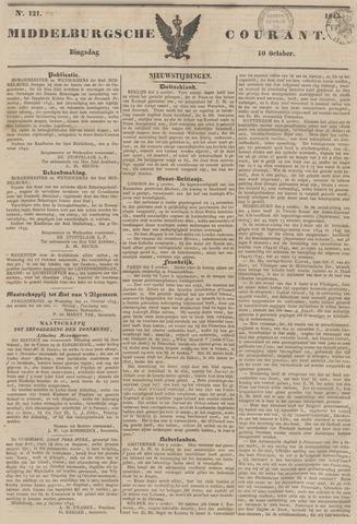 Middelburgsche Courant 1843-10-10
