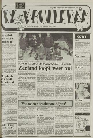 Provinciale Zeeuwse Courant katern Krullenbak (1981-1999) 1983-05-10
