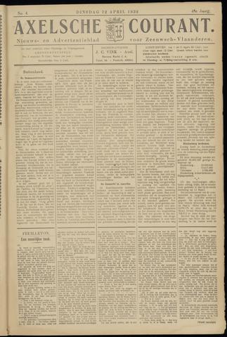 Axelsche Courant 1932-04-12