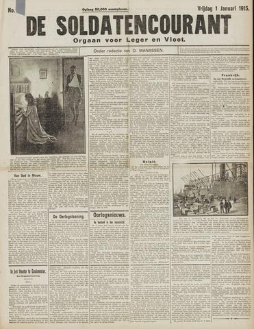 De Soldatencourant. Orgaan voor Leger en Vloot 1915