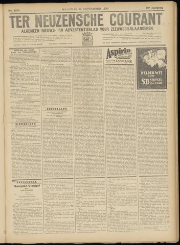 Ter Neuzensche Courant. Algemeen Nieuws- en Advertentieblad voor Zeeuwsch-Vlaanderen / Neuzensche Courant ... (idem) / (Algemeen) nieuws en advertentieblad voor Zeeuwsch-Vlaanderen 1930-09-15