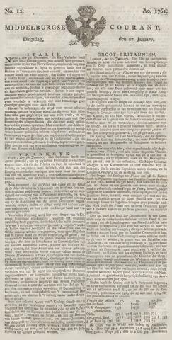 Middelburgsche Courant 1761-01-27