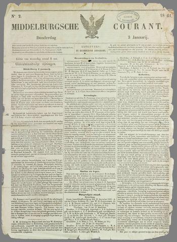 Middelburgsche Courant 1861-01-03