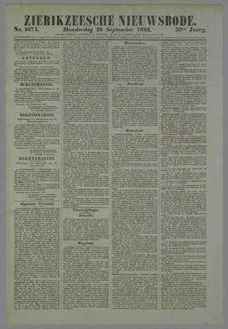 Zierikzeesche Nieuwsbode 1882-09-28