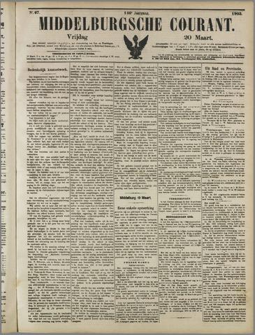 Middelburgsche Courant 1903-03-20