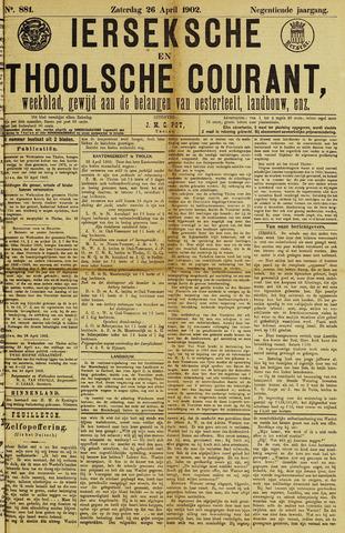 Ierseksche en Thoolsche Courant 1902-04-26