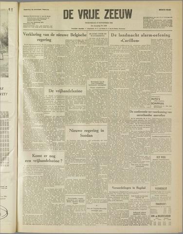 de Vrije Zeeuw 1958-11-19