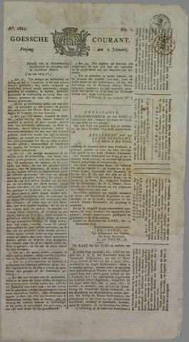 Goessche Courant 1824