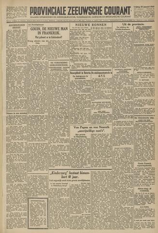 Provinciale Zeeuwse Courant 1946-01-25
