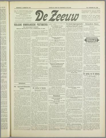 De Zeeuw. Christelijk-historisch nieuwsblad voor Zeeland 1937-08-02