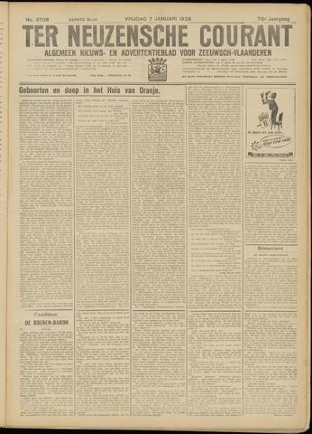 Ter Neuzensche Courant. Algemeen Nieuws- en Advertentieblad voor Zeeuwsch-Vlaanderen / Neuzensche Courant ... (idem) / (Algemeen) nieuws en advertentieblad voor Zeeuwsch-Vlaanderen 1938-01-07