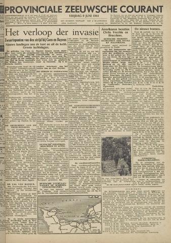 Provinciale Zeeuwse Courant 1944-06-09